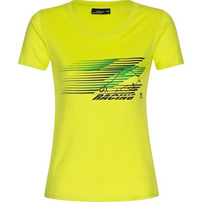 Bullstar Damen-T-Shirt Racing Gelb Gr. XL