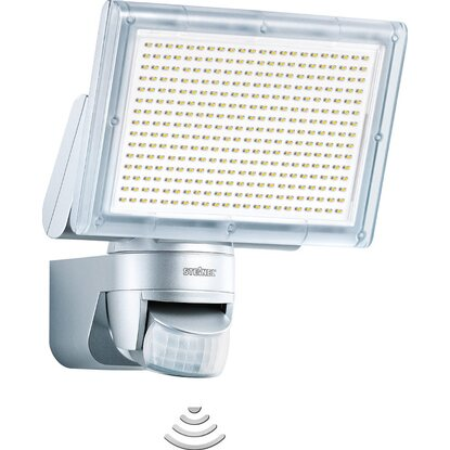 Steinel LED-Strahler EEK: A XLED Home 3 Silber