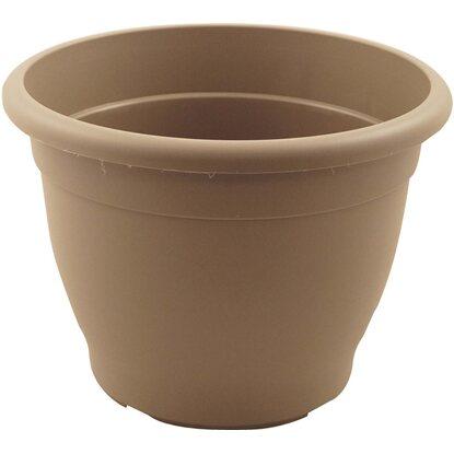 pflanztopf campana mit bew sserungssystem 50 cm taupe kaufen bei obi. Black Bedroom Furniture Sets. Home Design Ideas