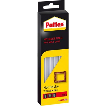 Pattex Heisskleber Hot Sticks Transparent 200 g