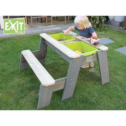 exit sand wasser picknick tisch aksent mit 1 sitzbank kaufen bei obi. Black Bedroom Furniture Sets. Home Design Ideas