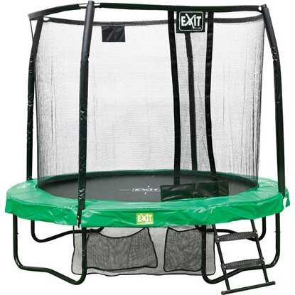 Exit Trampolin JumpArenA All-in-1 Grün-Grau 160 cm x 244 cm