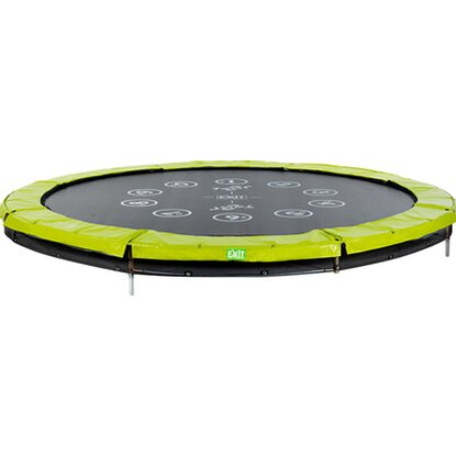 Exit Trampolin Twist Ground Grün-Grau Ø 366 cm