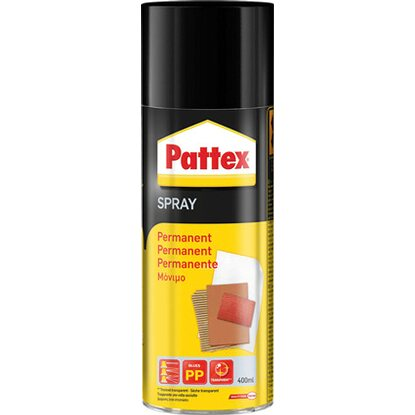 Pattex Spray Permanent Transparent 400 ml