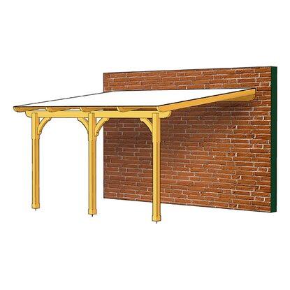 skan holz terrassen berdachung rimini 434 cm x 350 cm kaufen bei obi. Black Bedroom Furniture Sets. Home Design Ideas