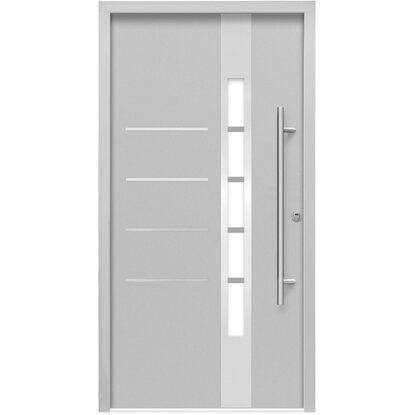 sicherheits haust r thermospace berlin rc2 110 x 210 cm grau anschlag rechts kaufen bei obi. Black Bedroom Furniture Sets. Home Design Ideas