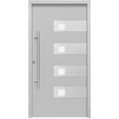 sicherheits haust r thermospace bern rc2 110 x 210 cm grau anschlag links kaufen bei obi. Black Bedroom Furniture Sets. Home Design Ideas