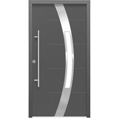 sicherheits haust r thermospace prag rc2 110 x 210 cm anthrazit anschlag links kaufen bei obi. Black Bedroom Furniture Sets. Home Design Ideas
