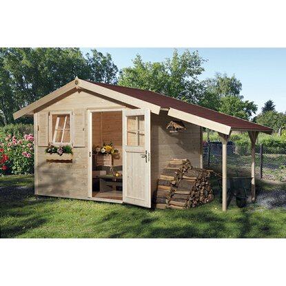 obi holz gartenhaus bozen b bxt 420 cm x 235 cm davon 120 cm schleppdach kaufen bei obi. Black Bedroom Furniture Sets. Home Design Ideas