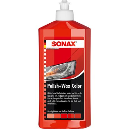 Sonax Polish & Wax Color Rot 500 ml