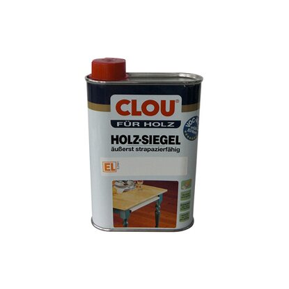 Clou Holz-Siegel EL Transparent seidenmatt 250 ml