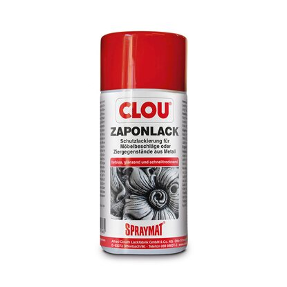 Clou Spraymat Zaponlack Transparent 300 ml