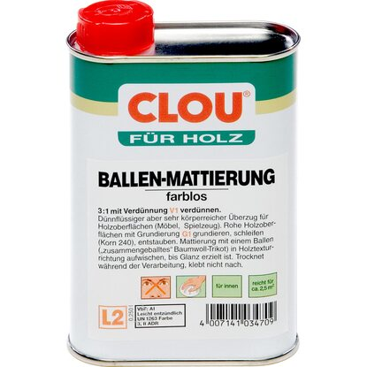 Clou Ballen-Mattierung Transparent 250 ml