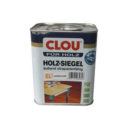 Clou Holz-Siegel EL Transparent seidenmatt 750 ml