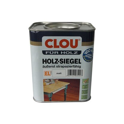 Clou Holz-Siegel EL Transparent matt 750 ml