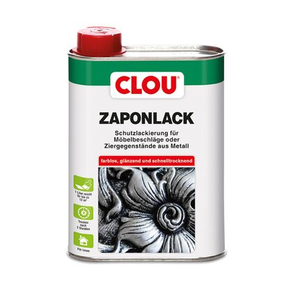 Clou Zaponlack (Metallfirnis) Transparent 250 ml