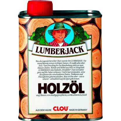 Lumberjack Holzöl Transparent 250 ml