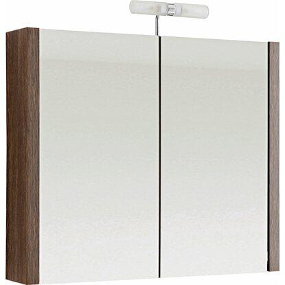 Obi spiegelschrank grado 76 cm dunkelbraun eek d kaufen - Spiegelschrank obi ...