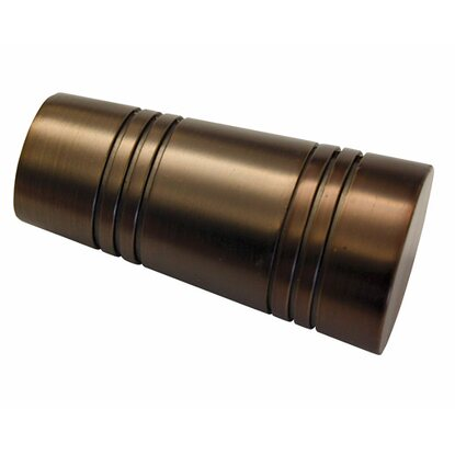 Gardinia Endknopf Chicago Apollo Ø 20 mm Bronze 2-er Pack