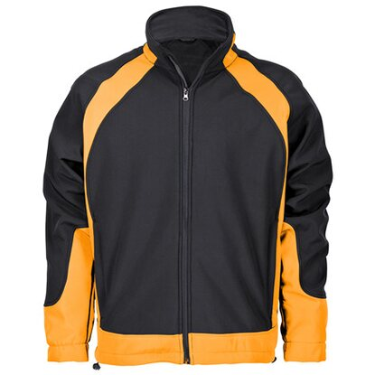Softshelljacke Solution Schwarz-Orange Gr. L