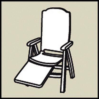 Relax Liegestuhl Auflage Basic Line Dessin 0268 Kaufen Bei Obi