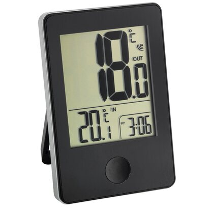 TFA Funk-Thermometer Pop Schwarz