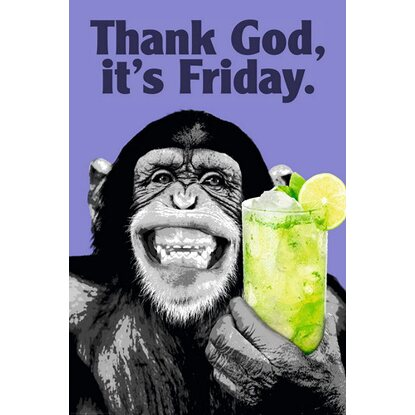 Maxiposter The Chimp 61 cm x 91,5 cm