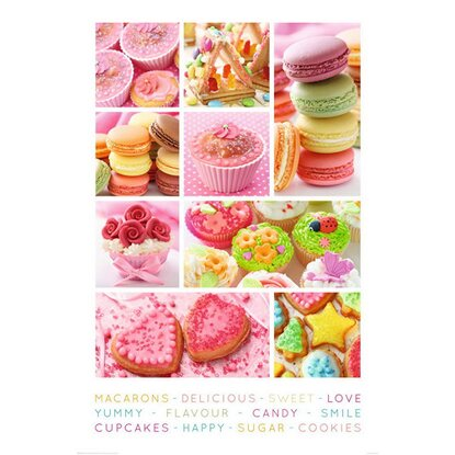 Maxiposter Sweets 61 cm x 91,5 cm