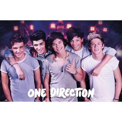 Maxiposter One Direction - On stage 61 cm x 91,5 cm