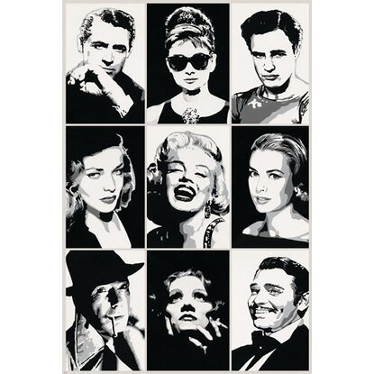 Maxiposter Hollywood Legends 61 cm x 91,5 cm