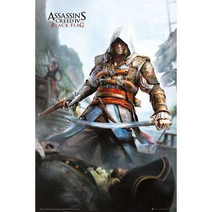 Maxiposter Assassins Creed - IV black flag 61 cm x 91,5 cm