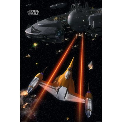 Maxiposter Star Wars - Space battle 61 cm x 91,5 cm