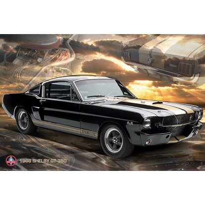 Maxiposter Ford Shelby Mustang 66 GT 350 - 61 cm x 91,5 cm