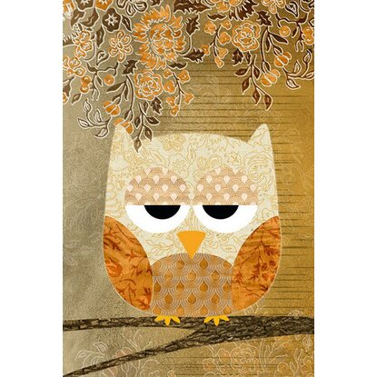 Maxiposter Sweet owl - Antique 61 cm x 91,5 cm