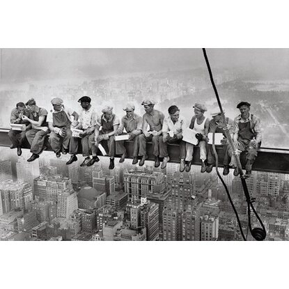 Maxiposter Manhattan Steelworkers 61 cm x 91,5 cm