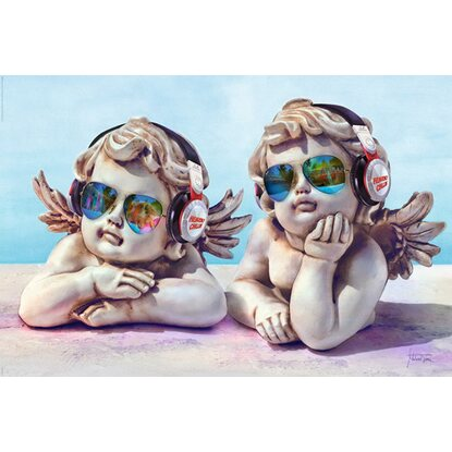 Maxiposter Michael Tarin - Angels cool chillin 61 cm x 91,5 cm