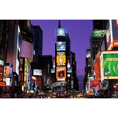 Maxiposter New York - Times square at night 61 cm x 91,5 cm