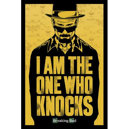 Maxiposter Breaking Bad - I am the one who knocks 61 cm x 91,5 cm
