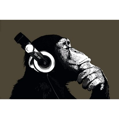 Maxiposter The Chimp - Stereo 61 cm x 91,5 cm