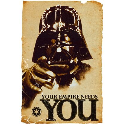 Maxiposter Star Wars - Empire needs you 61 cm x 91,5 cm
