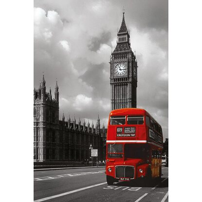 Maxiposter London Red Bus 61 cm x 91,5 cm