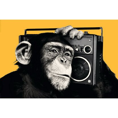 Maxiposter The Chimp - Boombox 61 cm x 91,5 cm