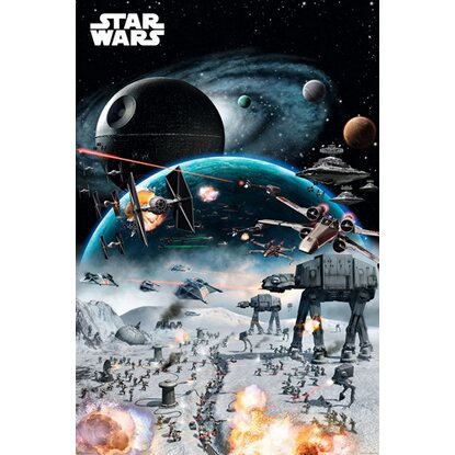 Maxiposter Star Wars - Battle 61 cm x 91,5 cm