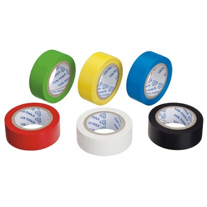 LUX Isolierband-Set 6 x 4,5 m x 15 mm