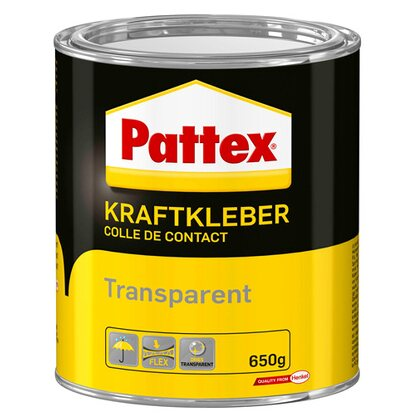 Pattex Kraftkleber Transparent 650 g