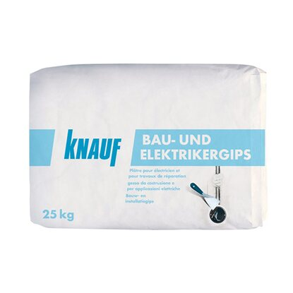 knauf bau elektriker gips 25 kg kaufen bei obi. Black Bedroom Furniture Sets. Home Design Ideas