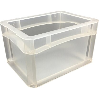 OBI Eurobox-System Tauro Box Vollwand 20 x 15 x 12 cm Transparent