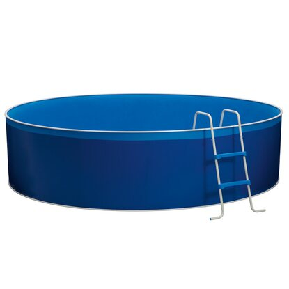 CMI Stahlwand-Swimming Pool-Set Ø 460 cm x 90 cm