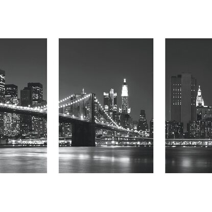 Eurographics Wandtattoo 3er-Set New York Skyline