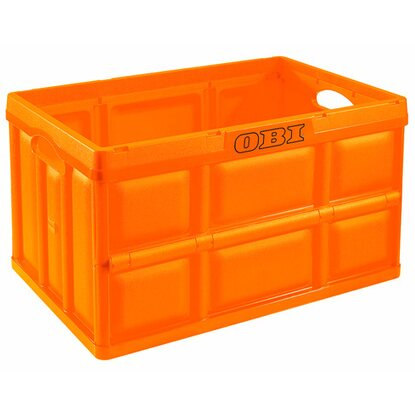OBI Klappbox Orange 46 l